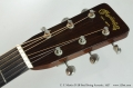 C. F. Martin D-28 Steel String Acoustic, 1957  Head Front View