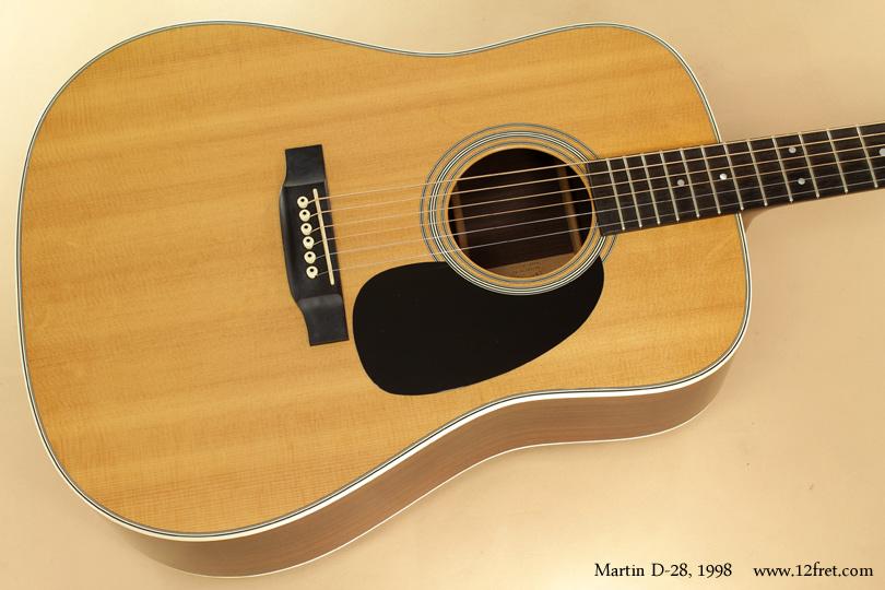 Martin D-28 1998 top