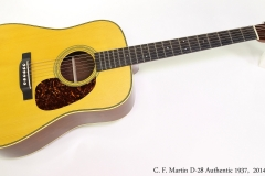 C. F. Martin D-28 Authentic 1937,  2014  Full Front View