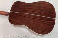 C. F. Martin D-28 Marquis Steel String Dreadnought Guitar  Back View