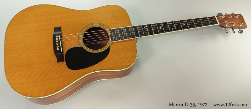 Martin D-35, 1972 Full Front VIew