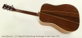 C. F. Martin D-35 Steel String Dreadnought Acoustic Guitar, 1975 Full Rear View