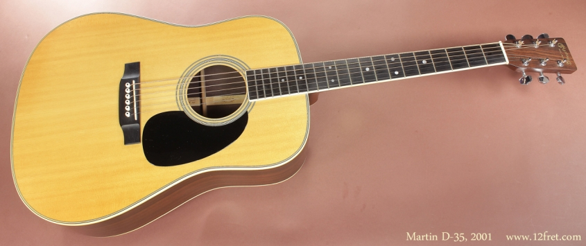 Martin D-35, 2001 full front view