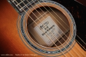Martin D-42 Sinker Mahogany label