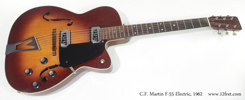 C.F. Martin F-55 Electric 1962 full front view