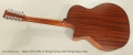 Martin GPC12PA4 12-String Cutaway Steel String Guitar, 2015 Full Rear View