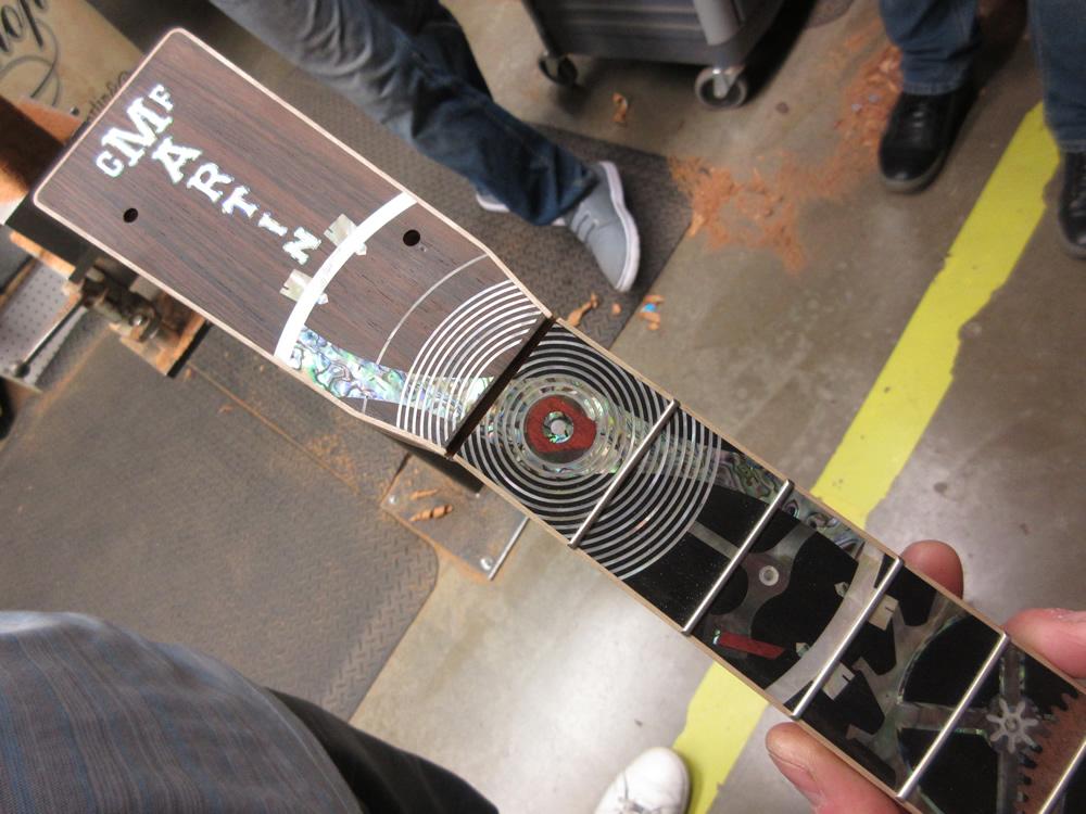 Martin Guitar Factory Tour