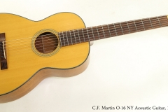 C.F. Martin O-16 NY Acoustic Guitar, 1976  Full Front View