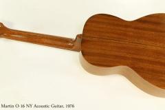C.F. Martin O-16 NY Acoustic Guitar, 1976  Full Rear View