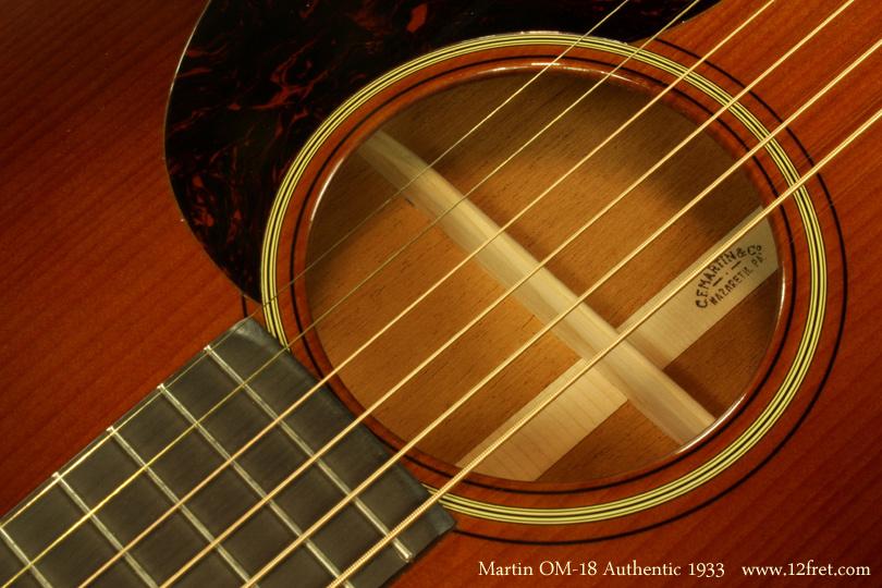 C.F. Martin OM-18 Authentic 1933 brand