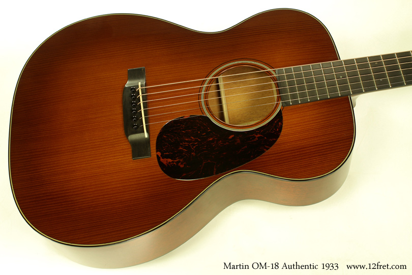 C.F. Martin OM-18 Authentic 1933 top