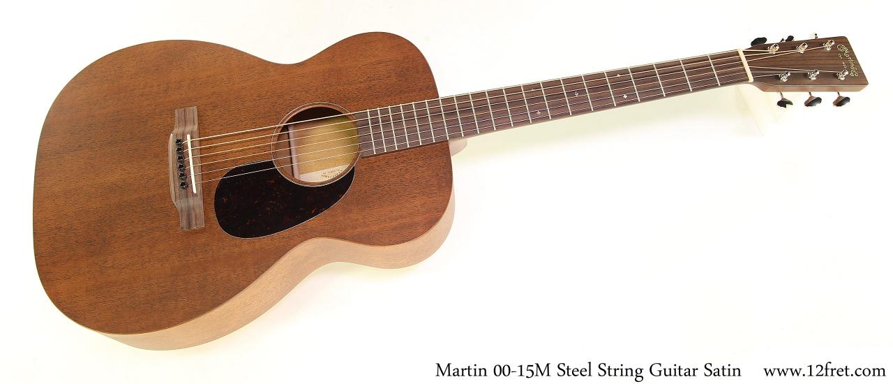 Martin 00-15M Steel String Guitar Satin Full Front View