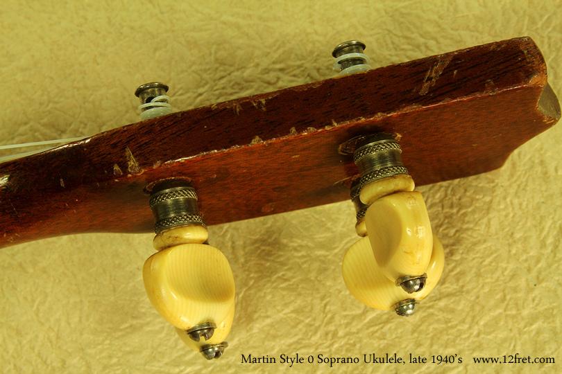 Martin Style 0 Soprano Uke late 1940s patent pegs
