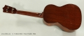 C. F. Martin Style 1 Tenor Ukulele, 1950s Full Rear View