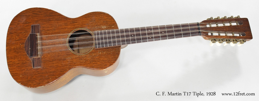 C. F. Martin T17 Tiple, 1928 Full Front View
