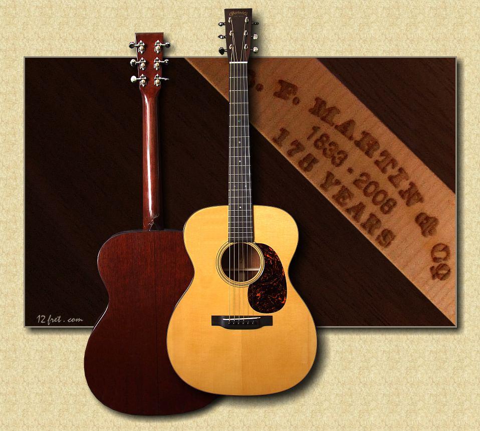 martin guitars 000 18 authentic 1937. Black Bedroom Furniture Sets. Home Design Ideas
