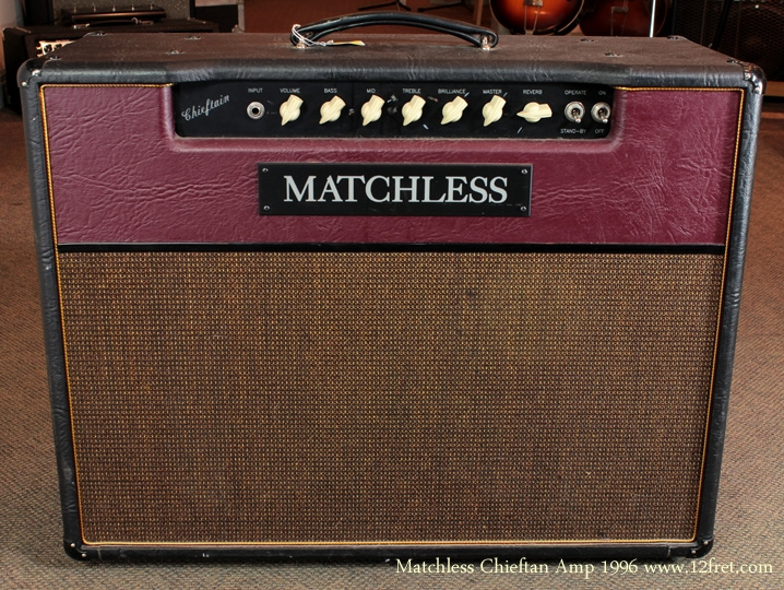 Matchless Chieftan Combo Amp 1996 front