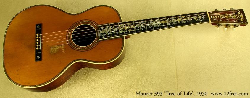 Maurer model 593 Tree of Life 1930 full front
