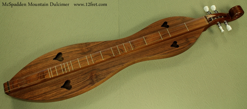 McSpadden Mountain Dulcimer Walnut front