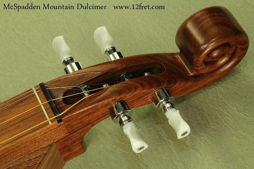McSpadden Mountain Dulcimer Walnut head