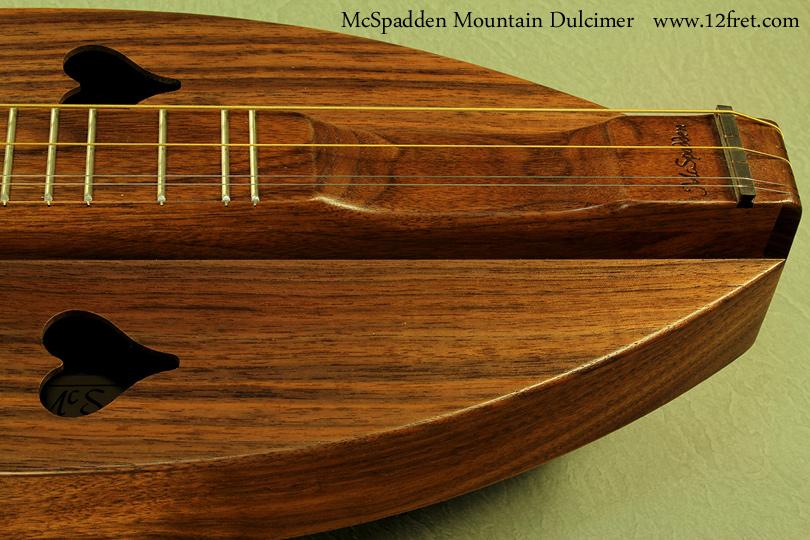 McSpadden Mountain Dulcimer Walnut scoop