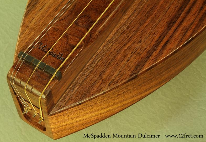 McSpadden Mountain Dulcimer Walnut tailblock