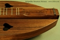 McSpadden Mountain Dulcimer Walnut scoop