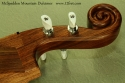 McSpadden Mountain Dulcimer Walnut scroll