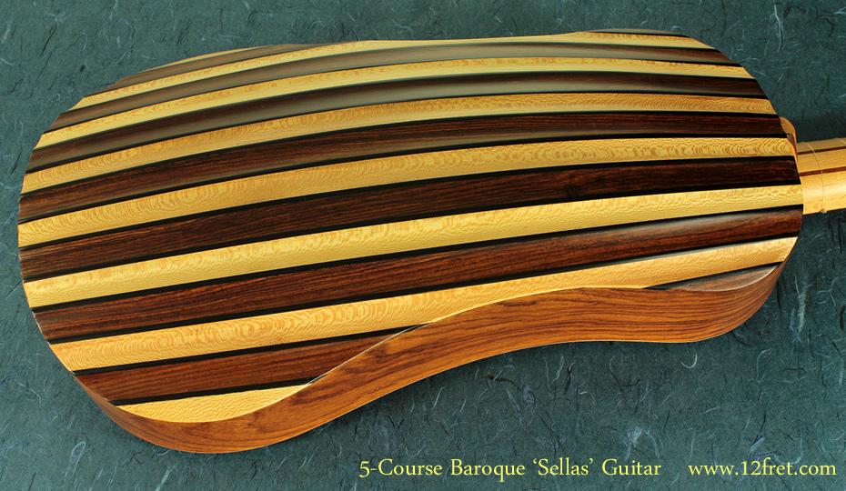 5-Course Baroque Guitar back
