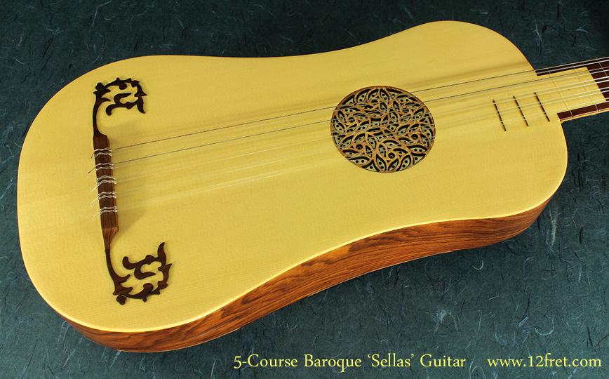 5-Course Baroque Guitar top