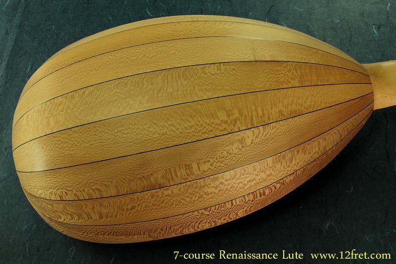 7-Course Renaissance Lute back