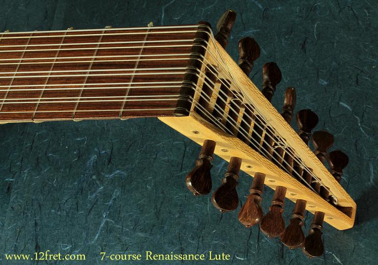 7-Course Renaissance Lute head