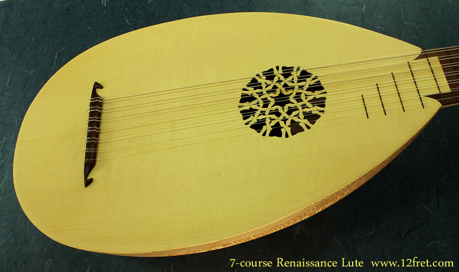 7-Course Renaissance Lute top