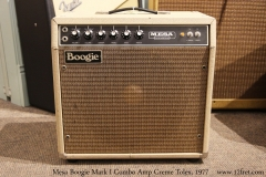 Mesa Boogie Mark I Combo Amp Creme Tolex, 1977 Full Front View