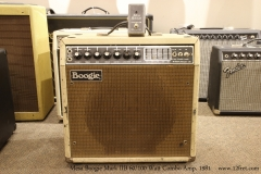 Mesa Boogie Mark IIB 60/100 Watt Combo Amp, 1981   Full Front View