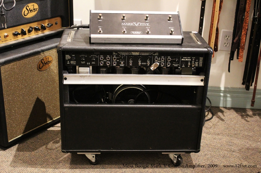 Mesa Boogie Mark V Combo Amplifier, 2009 Full Rear View