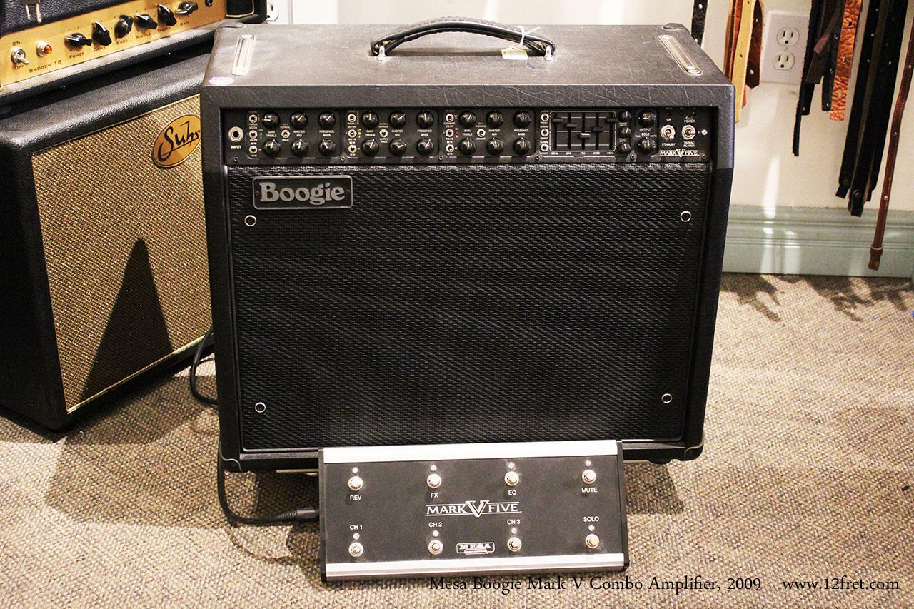 2009 mesa boogie mark v combo amplifier. Black Bedroom Furniture Sets. Home Design Ideas