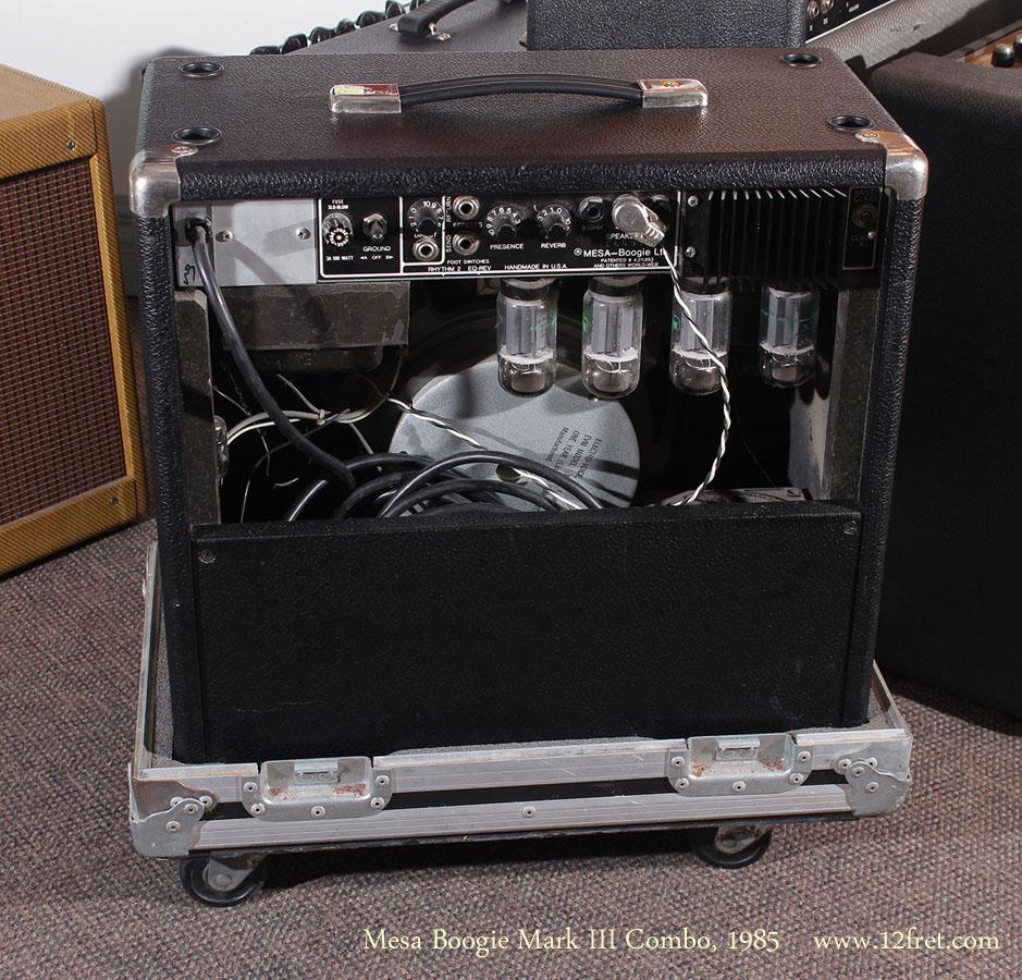Mesa Boogie Mark III Combo1985 back