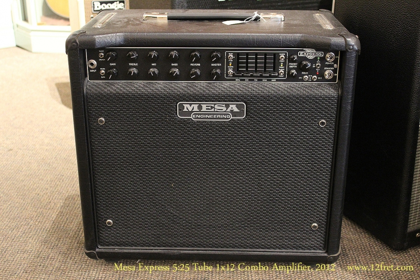Mesa Express 5:25 Tube 1x12 Combo Amplifier, 2012 Full Front View