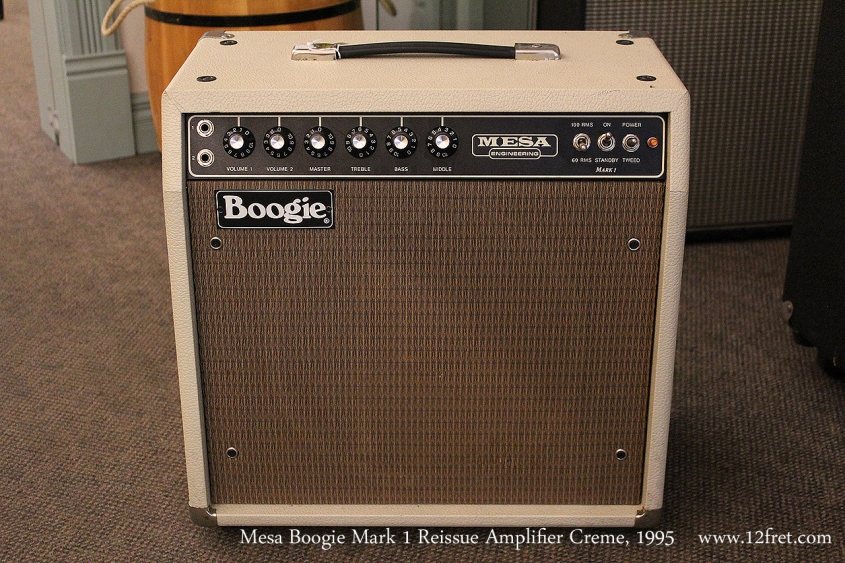 Mesa Boogie Mark 1 Reissue Amplifier Creme, 1995 Full Front View