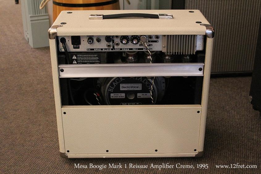 Mesa Boogie Mark 1 Reissue Amplifier Creme, 1995 Full Rear View