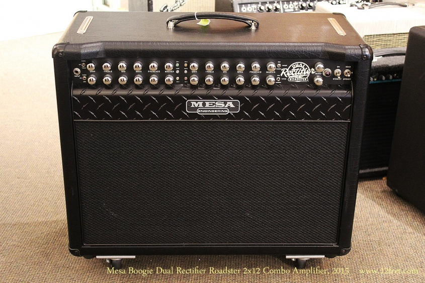 Mesa Boogie Dual Rectifier Roadster 2x12 Combo Amplifier, 2015 Full Front View