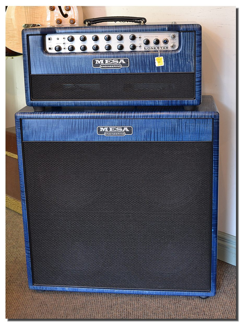 mesa boogie lone star head and cabinet 2009. Black Bedroom Furniture Sets. Home Design Ideas