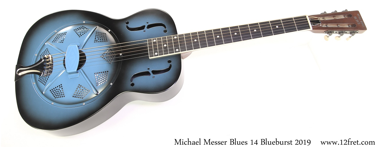 Michael Messer Blues 14 Blueburst 2019 Full Front View