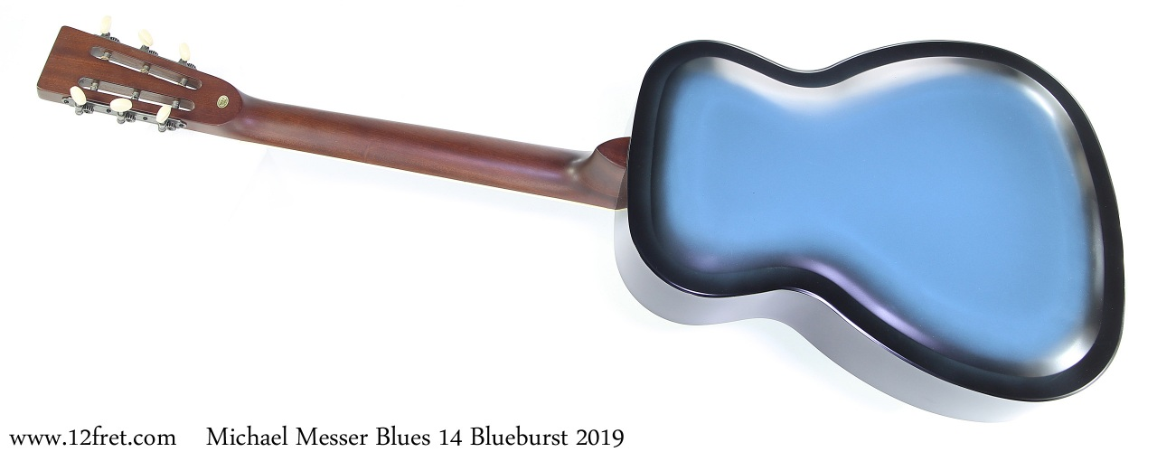 Michael Messer Blues 14 Blueburst 2019 Full Rear View