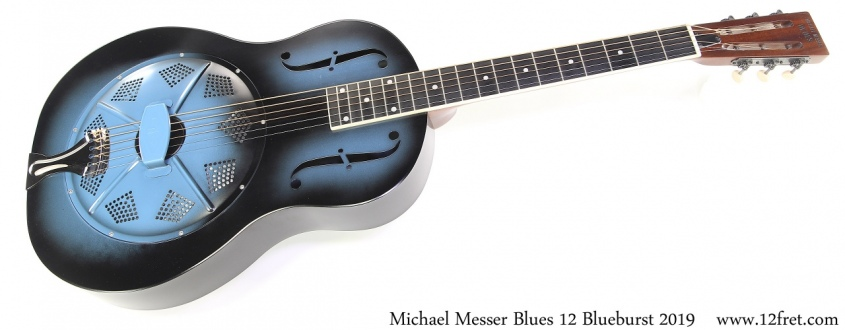 Messer Blues 12 Blueburst 2019 Full Front View