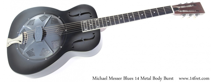 Michael Messer Blues 14 Metal Body Burst Full Front View