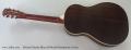Michael Messer Blues 28 Model Resophonic Guitar Full Rear View