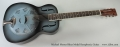 Michael Messer Blues Model Resophonic Guitar Full Front View