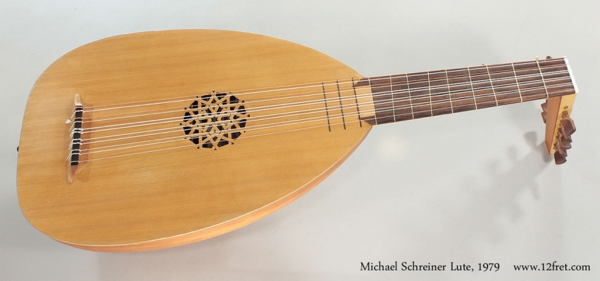 Michael Schreiner Lute, 1979 Full Front View